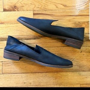 Lucky Brand leather loafers flats slides